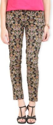 Max Skinny Fit Women's Black Trousers
