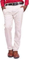 British Terminal Skinny Fit Mens White Trousers