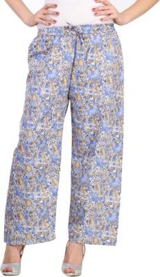 Aksara Regular Fit Women,s Multicolor Trousers