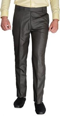desert player Slim Fit Men's Grey Trousers