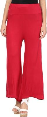 Sakhi Sang Regular Fit Women's Maroon Trousers