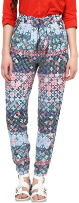 Harpa Regular Fit Women's Multicolor Trousers