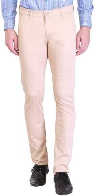 Vintage Polo Assn Slim Fit Men's Cream Trousers