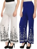 Haniya Regular Fit Women's White, Blue T...