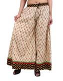 Rajrang Slim Fit Women's Brown Trousers
