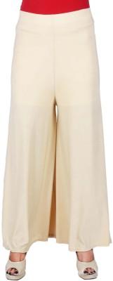 SRS Regular Fit Women's Cream Trousers