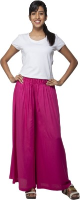 Go Colors Regular Fit Women's Pink Trousers