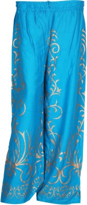 SAANKHYA Regular Fit Women's Blue Trousers