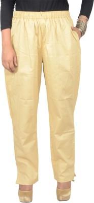 Shopatplaces Regular Fit Women's Beige Trousers