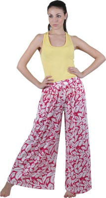 Vixenwrap Regular Fit Women's Pink Trousers