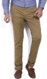 Being Human Regular Fit Men's Beige Trou...