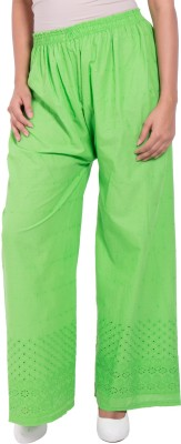diva boutique Regular Fit Womens Green Trousers