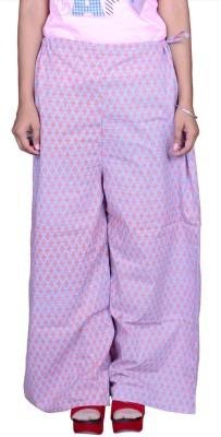 Pezzava Regular Fit Women's Blue, Orange Trousers
