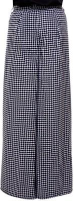Tryfa Regular Fit Women's Blue Trousers