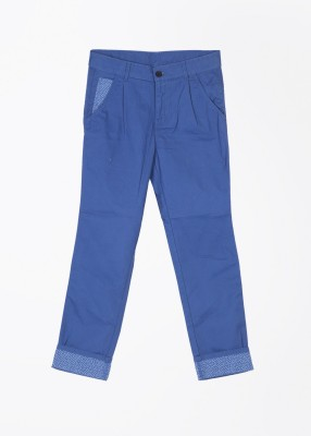 United Colors of Benetton Slim Fit Boy's Blue Trousers