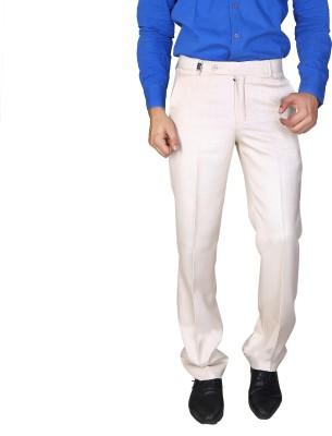 Boy Adam Slim Fit Men's Beige Trousers