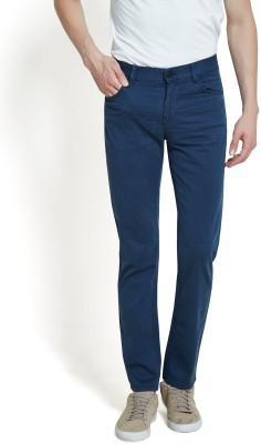 Offline Slim Fit Men,s Blue Trousers