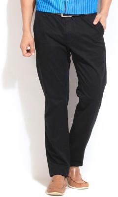 Gant Regular Fit Men's Black Trousers