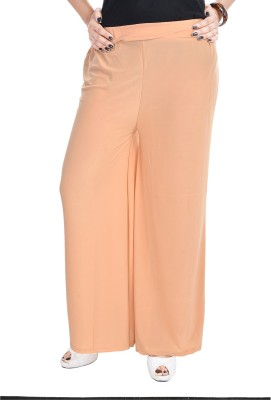 Soundarya Regular Fit Womens Beige Trousers