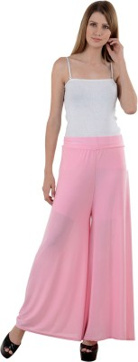 NumBrave Regular Fit Women's Pink Trousers
