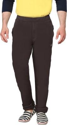 Origin Regular Fit Men's Brown Trousers