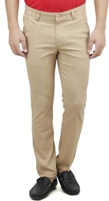 Savon Slim Fit Men,s White Trousers