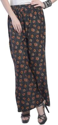 Stri Regular Fit Women's Black, Yellow Trousers