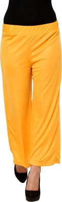 Limeberry Regular Fit Women's Yellow Trousers