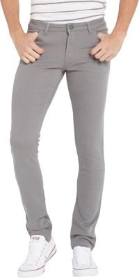 Globus Regular Fit Men's Grey Trousers