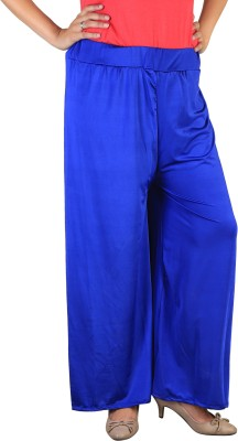 indian street fashion Regular Fit Women,s Blue Trousers