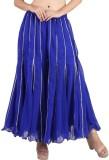 Shararat Regular Fit Women's Blue Trouse...