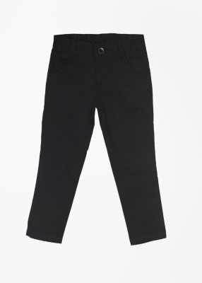 Cherokee Slim Fit Girl's Black Trousers