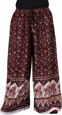 Soundarya Regular Fit Womens Black Trousers