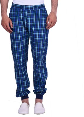 Cortos Regular Fit Men's Blue Trousers