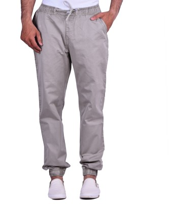 Cortos Regular Fit Men's Grey Trousers
