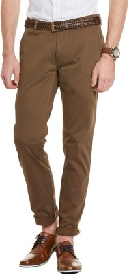 American Swan Slim Fit Men's Green Trousers