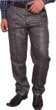 Larwa Fashion Regular Fit Men's Grey Tro...