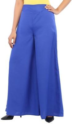 Rigoglioso Regular Fit Women's Dark Blue Trousers