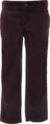 UFO Slim Fit Boy's Brown Trousers