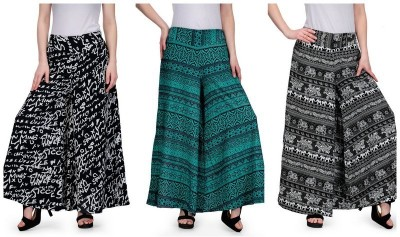 Samayra Regular Fit Women's Multicolor Trousers