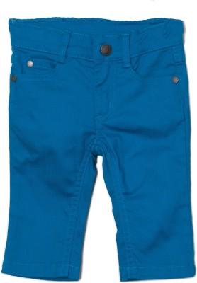 Jacadi Paris Regular Fit Boy's Blue Trousers