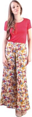 Libas Regular Fit Women's Multicolor Trousers at flipkart