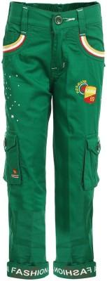 benext Regular Fit Boy's Green Trousers