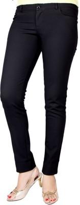Rajni New Collection Slim Fit Women's Black Trousers