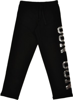 NOQNOQ Regular Fit Boy's Black Trousers