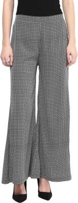 Taurus Regular Fit Women's Black Trousers