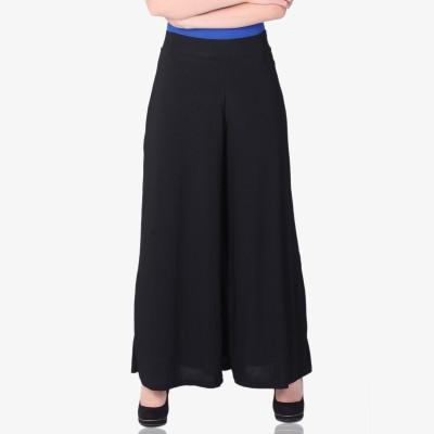 shrayst fashion Regular Fit Women's Black Trousers