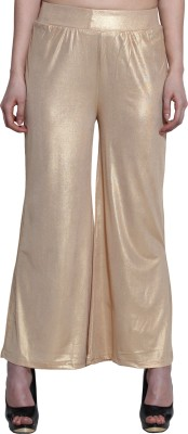 LGC Regular Fit Women's Gold Trousers