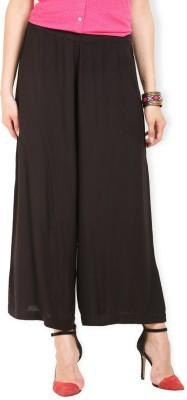 Max Regular Fit Women's Black Trousers