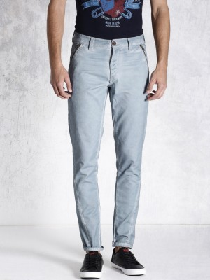 Roadster Regular Fit Men's Blue Trousers